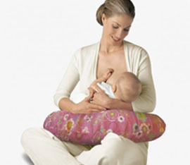 come si usa il cuscino per allattamento